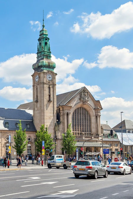 Luxembourg central station